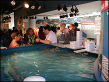 Water Lab exhibition & program space<BR> Chicago Academy of Sciences - 1999